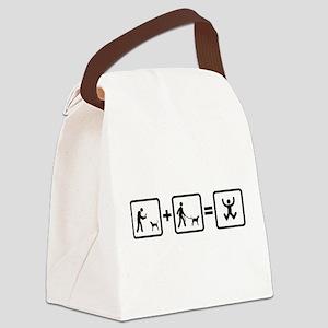 Treeing Walker Coonhound Canvas Lunch Bag