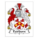 Fairburn Family Crest Small Poster
