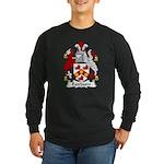 Fairburn Family Crest Long Sleeve Dark T-Shirt