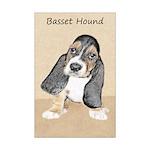 Basset Hound Puppy Mini Poster Print