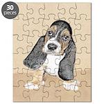 Basset Hound Puppy Puzzle