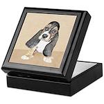 Basset Hound Puppy Keepsake Box