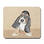 Basset Hound Puppy Mousepad