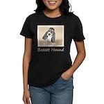 Basset Hound Puppy Women's Dark T-Shirt