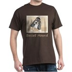 Basset Hound Puppy Dark T-Shirt