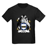 Faber Family Crest   Kids Dark T-Shirt