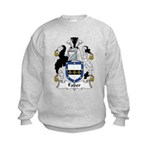Faber Family Crest   Kids Sweatshirt