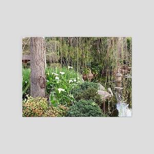Himeji Japanese Garden, Adelaide 5 5'x7'Area Rug