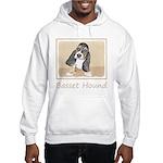 Basset Hound Puppy Hooded Sweatshirt
