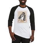 Basset Hound Puppy Baseball Tee