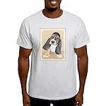 Basset Hound Puppy Light T-Shirt