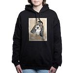 Basset Hound Puppy Women's Hooded Sweatshirt