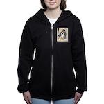 Basset Hound Puppy Women's Zip Hoodie
