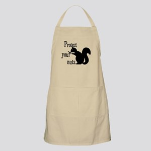 Protect Your Nuts. BBQ Apron