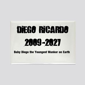 Diego Ricardo Rectangle Magnet
