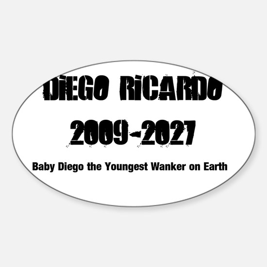 Diego Ricardo Oval Decal