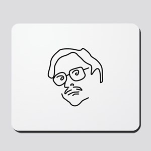 ::: Quirky Office Character ::: Mousepad