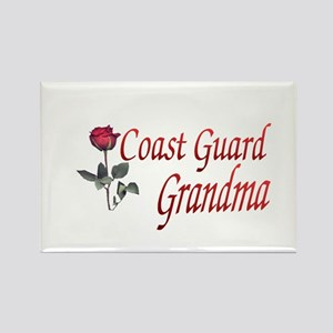 coast guard grandma Rectangle Magnet