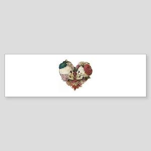 skullheart Bumper Sticker