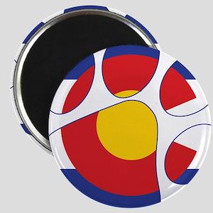 Colorado Paw Print Magnets