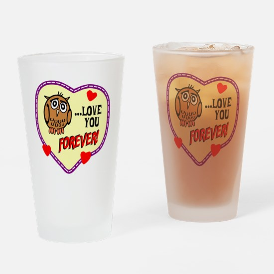 Owl Love You Forever Drinking Glass