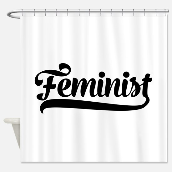 Feminist Shower Curtain
