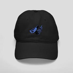 Black/Blue Black Cap