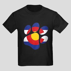 Colorado Paw Print T-Shirt
