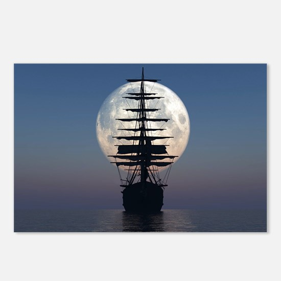 Ship Sailing In The Night Postcards (Package of 8)
