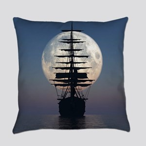 Ship Sailing In The Night Everyday Pillow