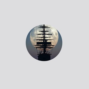 Ship Sailing In The Night Mini Button
