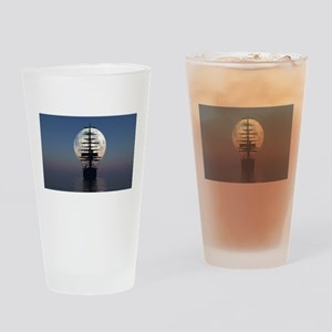 Ship Sailing In The Night Drinking Glass