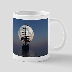 Ship Sailing In The Night Mugs