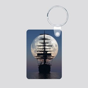Ship Sailing In The Night Keychains