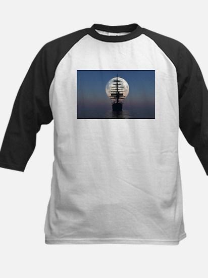 Ship Sailing In The Night Baseball Jersey