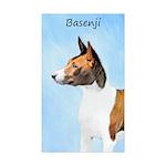 Basenji Sticker (Rectangle 50 pk)
