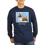 Basenji Long Sleeve Dark T-Shirt