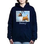 Basenji Women's Hooded Sweatshirt
