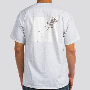 Climbing Lizard Ash Grey T-Shirt