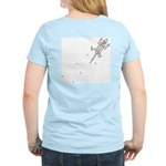 Climbing Lizard Women's Light T-Shirt