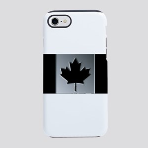 Canadian Flag Winter Camo Patt iPhone 7 Tough Case