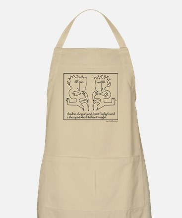 The Right Therapist BBQ Apron