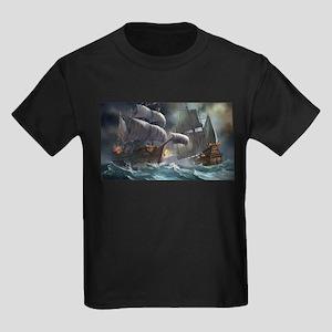 Battle Between Ships T-Shirt