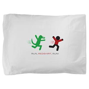 Run, Redshirt, Run! Pillow Sham