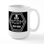 Ncdm 2017-2018 Black Logo Mugs