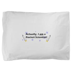 rocketscientistblack Pillow Sham