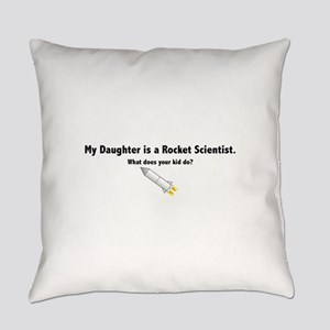 daughter_black Everyday Pillow