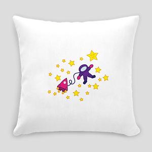 twinkle_twinkle_purple Everyday Pillow