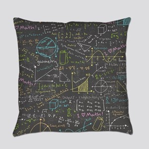 Math Lessons Everyday Pillow