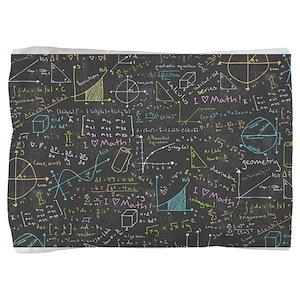 Math Lessons Pillow Sham